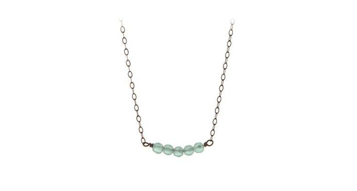 Petite Aqua Necklace