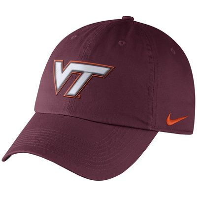timeless design e394e 57818 Men s Nike Maroon Virginia Tech Hokies Heritage 86 Authentic Adjustable  Performance Hat