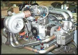VW engine, complete with turbocharger - Now that's actually quite clever. That would be perfect for a buggy.