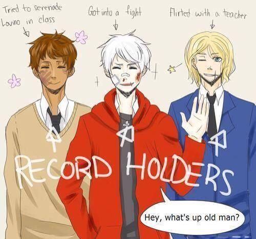 Bad Touch Trio | Spain Prussia and France | Hetalia