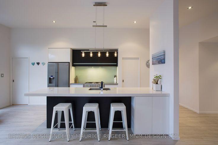 Stunning kitchen designed by Maurice Regeer! #ADNZ #architecture #kitchen