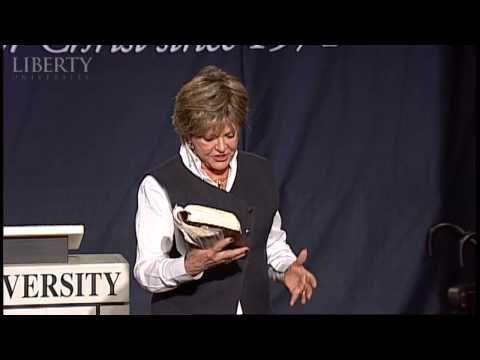 Wow. Please watch.:)   Kay Arthur - Liberty University Convocation