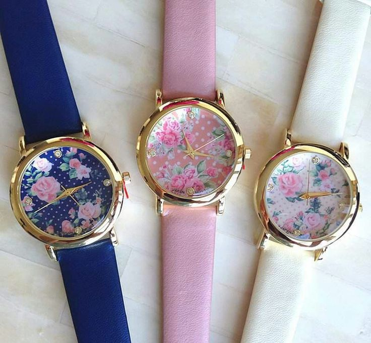 Cute floral watches