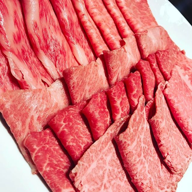 great wagyu A5 #meat #beef #和牛 #しゃぶしゃぶ #a5 #肉 #dinner #delicious #yummy