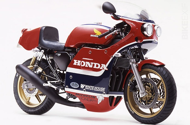 The Whitehouse CB750cafe, a Honda RCB1000 replica