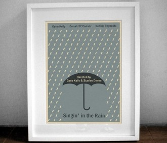 singing in the rain print - cute and only $3.75