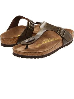 Recently fell in love with Birks all over again (last pair purchased in the late 80's or early 90's). Birkenstock at Zappos. Free shipping, free returns, more happiness!