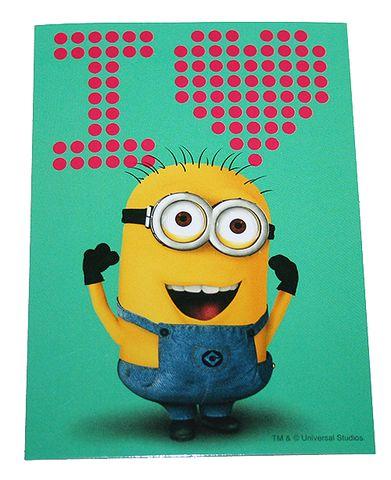 Despicable Me I Love Minions Bumper Sticker Decal $2.99