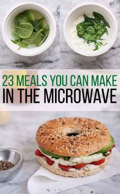 23 Dorm Room Meals You Can Make In A Microwave. This is great for dorm life and barracks life!