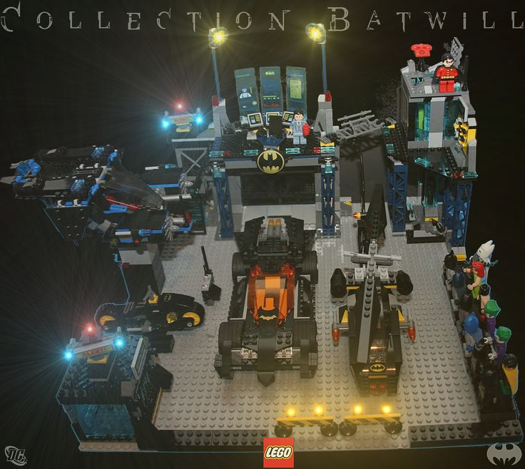 Batman Arkham Knight Batcave: Batman Lego Batcave Alerte Batcave Custom !