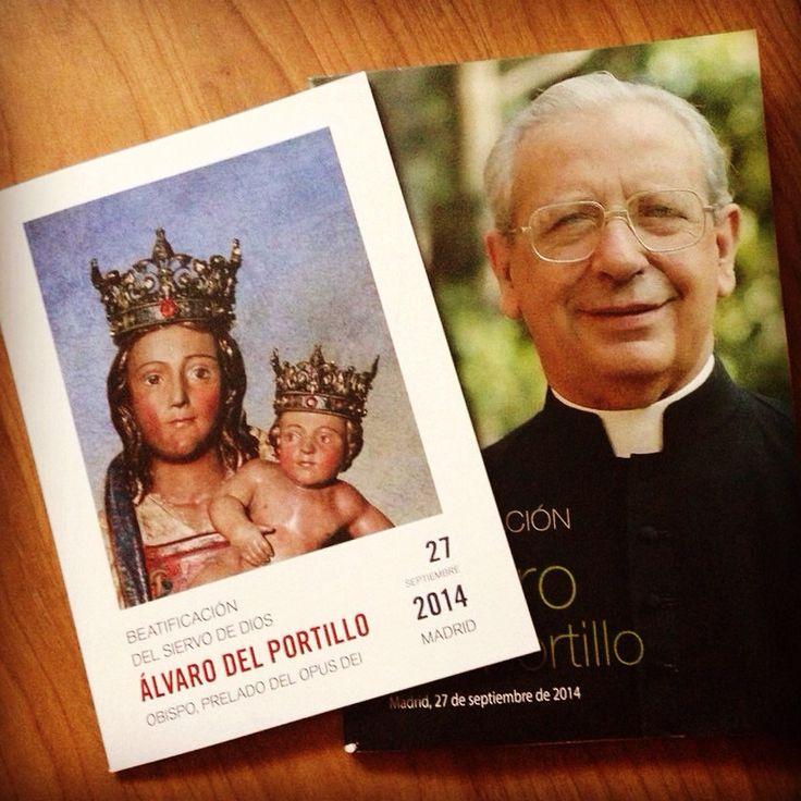 Todo preparado para la beatificación de #AlvarodelPortillo