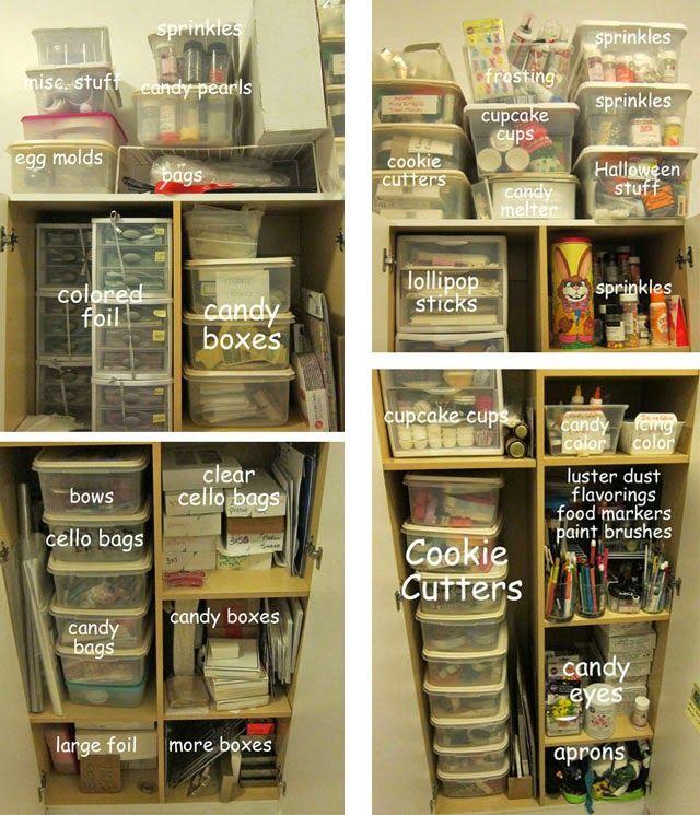 Cake Decorating Organization