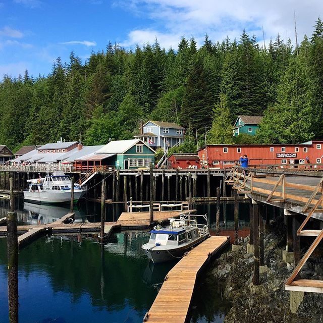 Telegraph Cove Resort, tucked away within the wilderness on the east coast of Northern Vancouver Island. (photo: @kattancock via Instagram) #explorebc #explorecanada
