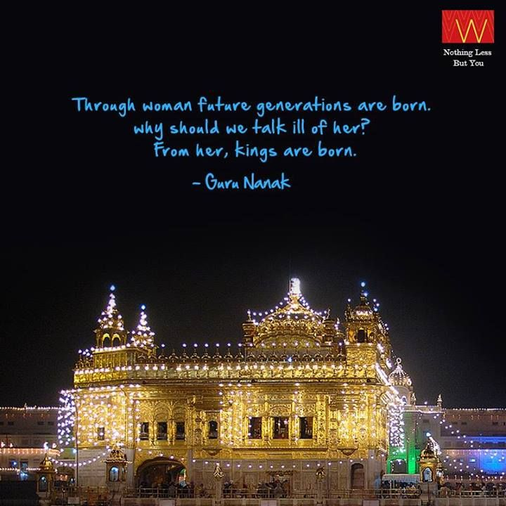 Don't we all love the lights and the 'Juloos' on Guru Nanak Jayanti? Have a great day with your family today.