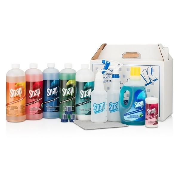 Snap™ Pak-- Excellent, eco-friendly cleaning products for any size business or home!