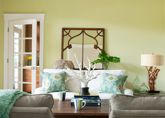 The Calming Effect Interior Paint Color is perfect for refreshing your home this Spring! Find this color and more at Kelly-Moore Paints.