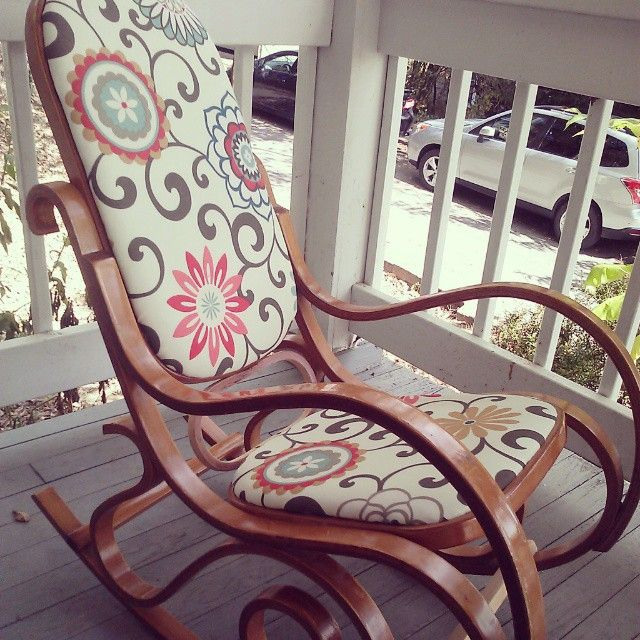 Bentwood Rocker Rehab! We have one of these. What a great idea!