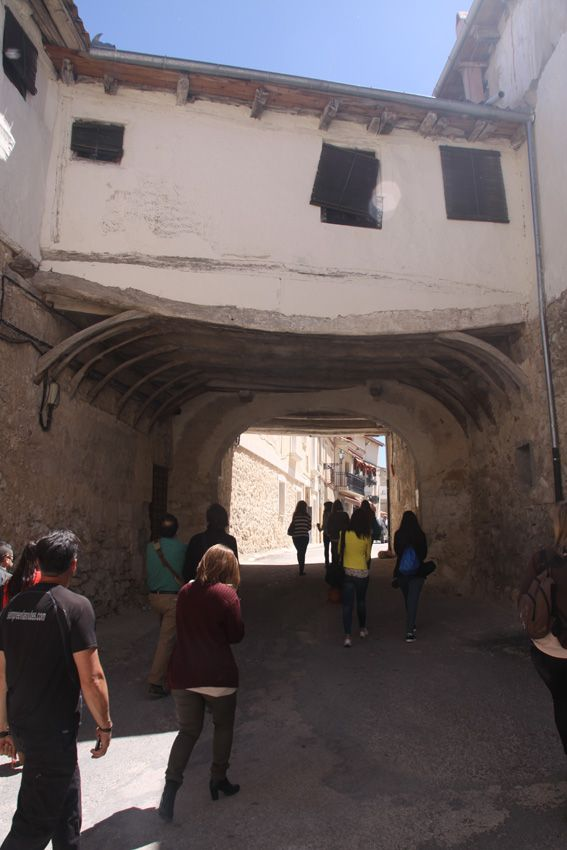 Puerta de Palacio, Fuentidueña, Segovia