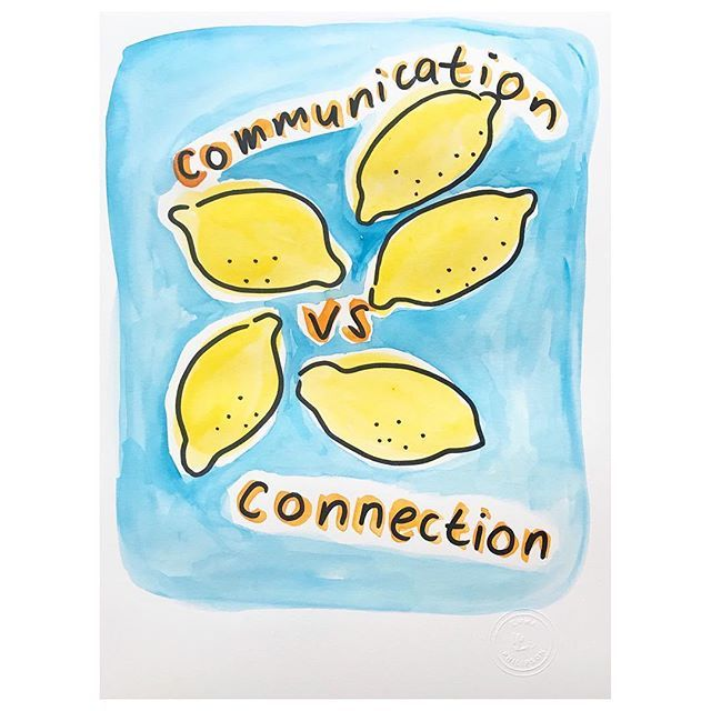 One is skill, one simply is #connection #communication #🍋