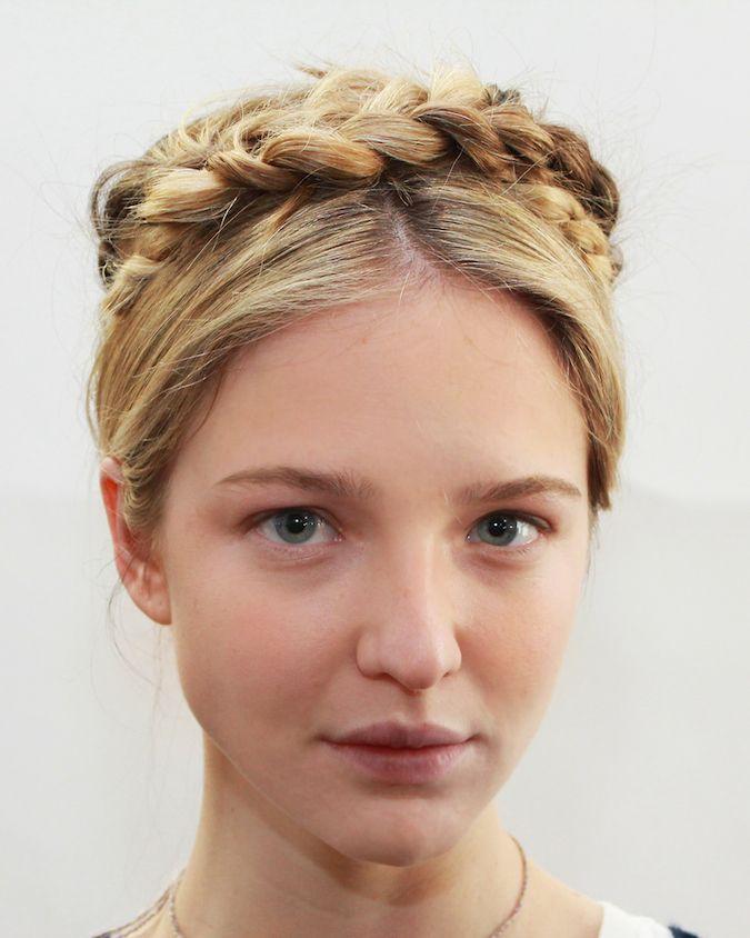 Best Best Braids Images On Pinterest Hairstyle Tutorials - Diy hairstyle knotted milkmaid braid