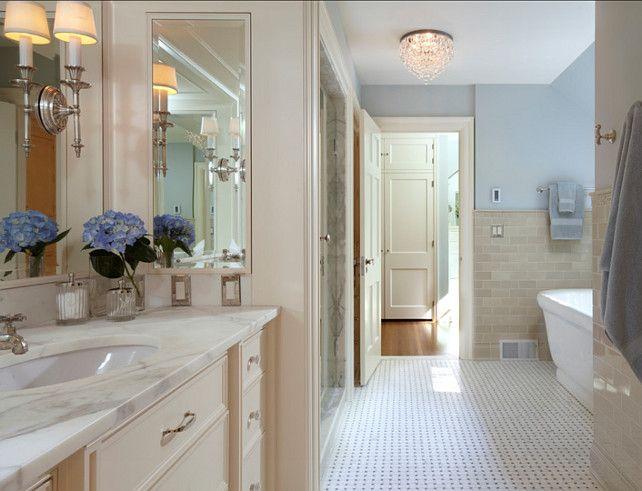 Luxury Transitional Cream Bathroom  Contemporary  Bathroom  Phoenix  By