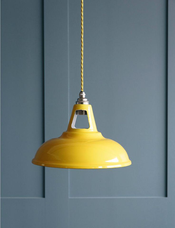 www.roseandgrey.co.uk spun-steel-pendant-light-yellow
