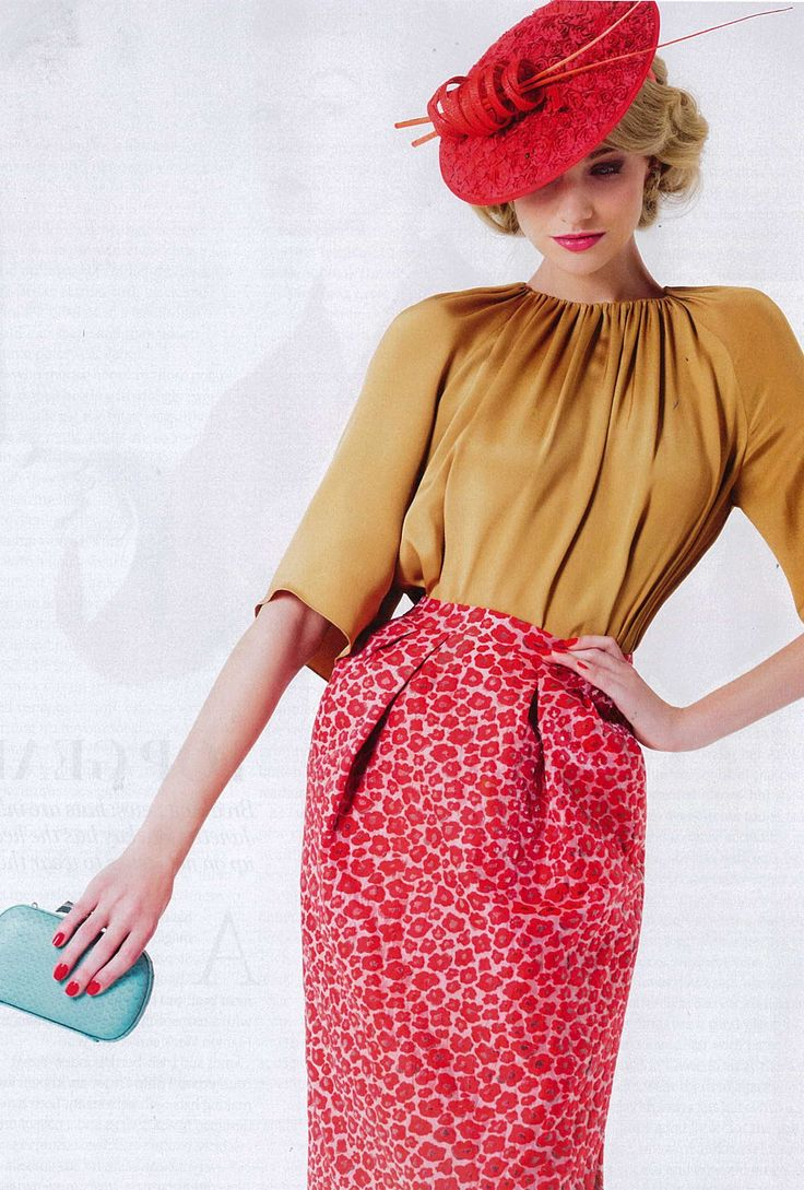 Fashion Quarterly Occasions - Trelise Cooper 'Paint the Town Red' skirt