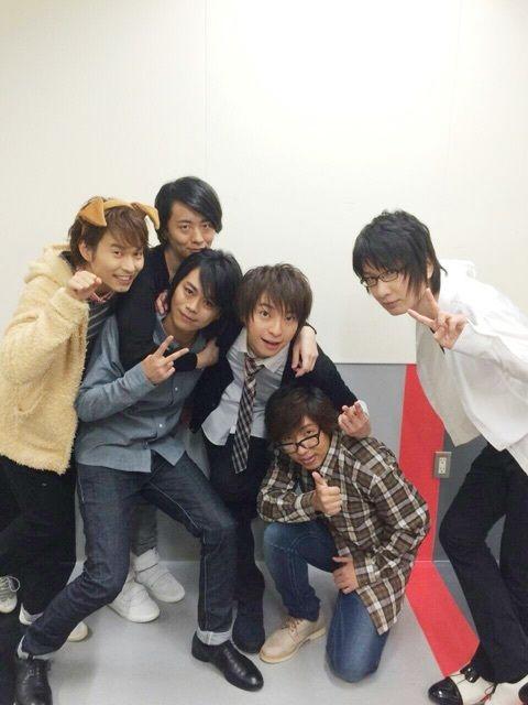 Posted by namidai oct 2014... Tetsuya Kakihara, Daisuke Namikawa