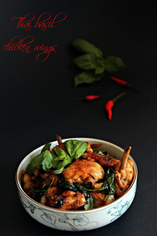 Thai Basil Chicken Wings