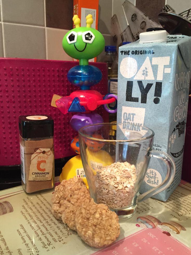 Porridge Shapes  (dairy, egg, nut and soya free: mummybakesdairyfree)