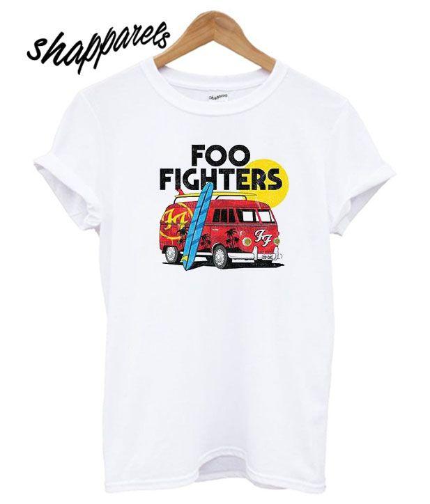 6947c5c85 Foo Fighter Van Kids T shirt in 2019 | T shirt | Vans kids, Shirts ...
