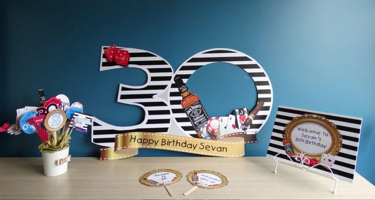 30 yaş parti fikirleri