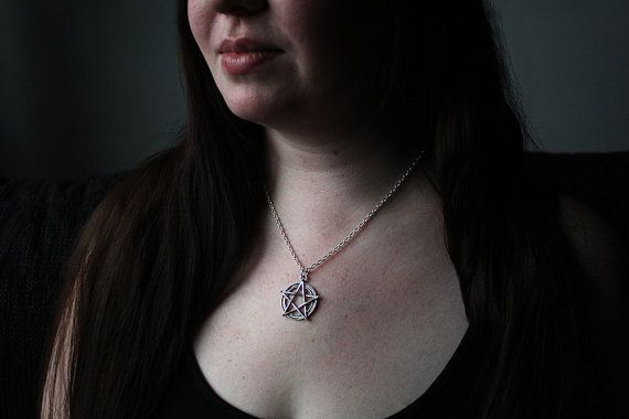 Pentacle necklace from Say Bye Twice