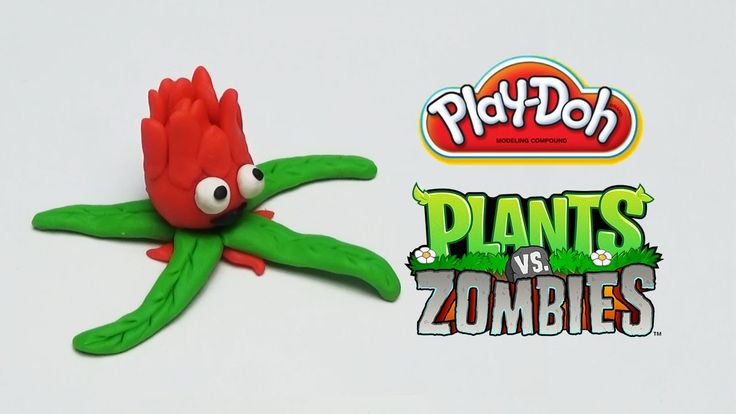 Play-Doh Plants vs Zombies Garden Warfare Red Stinger from Plants Vs. Zo...