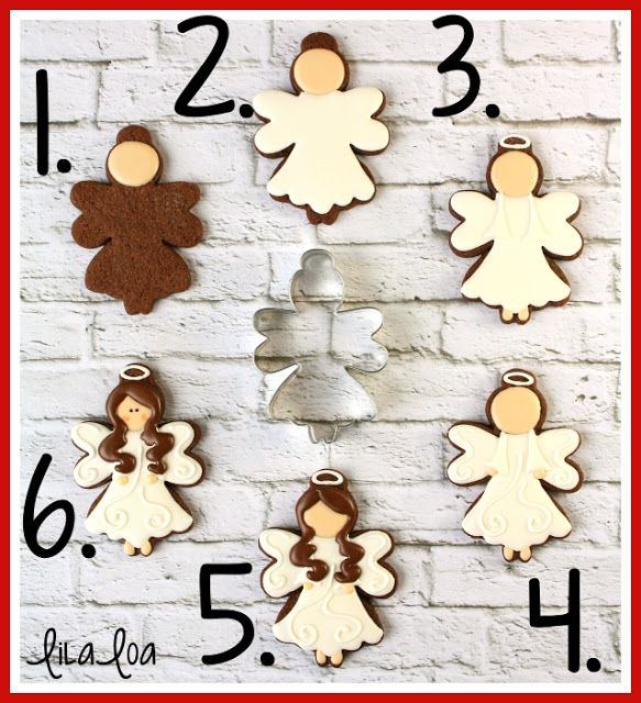 How to Make Decorated Angel Cookies for Christmas |