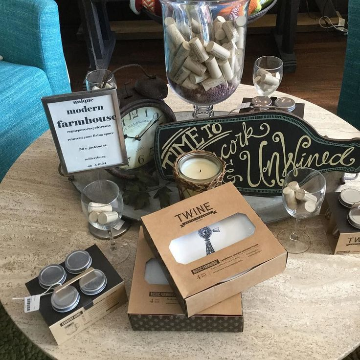 Time to uncork and unwind! Our new rustic farmhouse appetizer plates are a great addition to any party. Can be used with the rustic farmhouse shot glasses! #fun #celebrate #party #millersburg all featured on the antique travertine cocktail table just finished the base with our Repurpose cast iron black paint! #recycle #repurpose #reinvent by modernfarmhouse