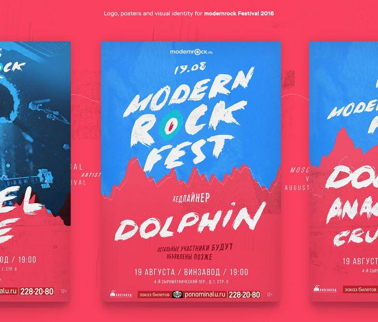 Modernrock Fest 2016 on Behance