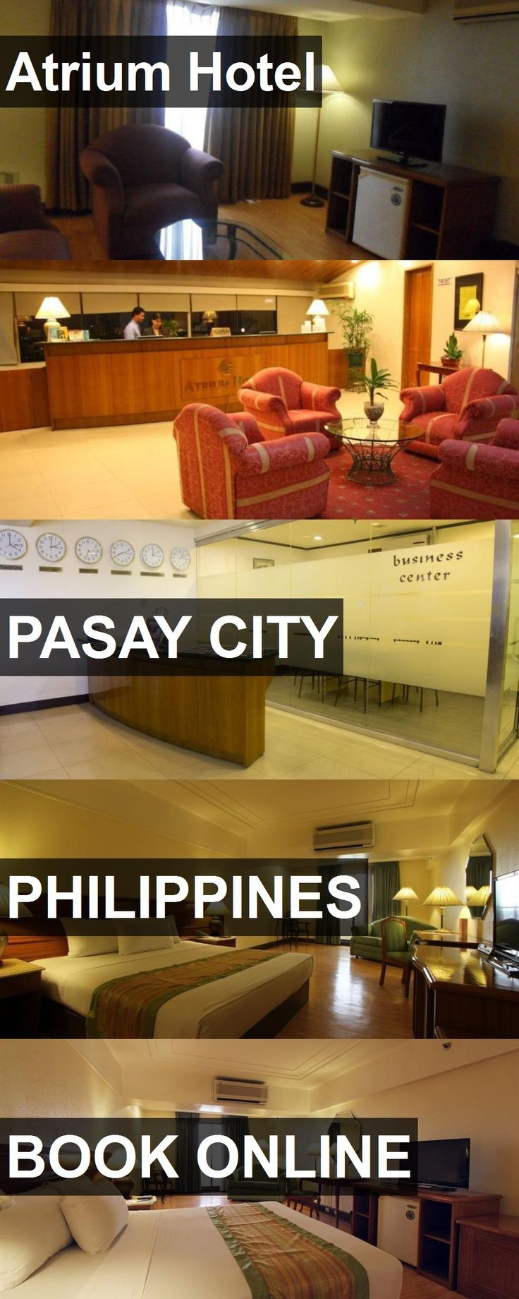 Atrium Hotel in Pasay City, Philippines. For more information, photos, reviews and best prices please follow the link. #Philippines #PasayCity #travel #vacation #hotel
