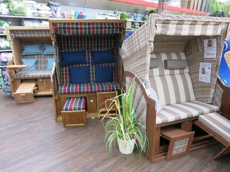 Gemütliche Strandkörbe Strandkorb Outdoormöbel Gartenmöbel