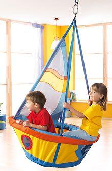 HABA - Erfinder für Kinder - Schiffschaukel - Schaukeln + Zimmerzelte - Kinderzimmer - Spielzeug & Möbel