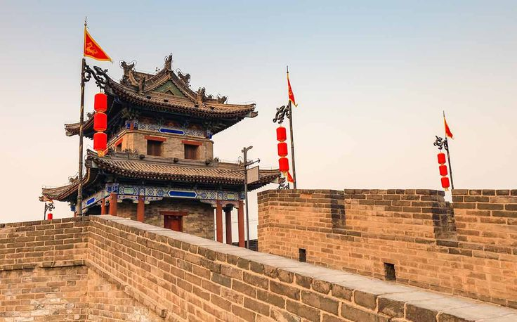 Xi'an City Wall has the watch tower at each of the four corners.