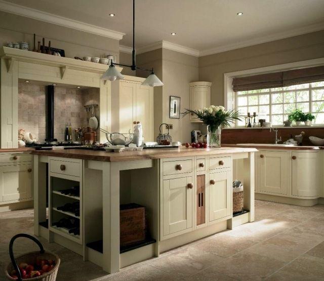 Id e cuisine 30 id es de d co dans le style champ tre chic idees ivory kitchen inframe - Deco de cuisine ...