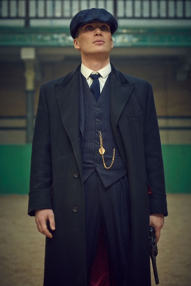 """Cillian Murphy in PEAKY BLINDERS 2nd season: """"I'd probably have been wealthier if I had stayed with law, but pretty miserable doing it."""" - Tommy Shelby"""