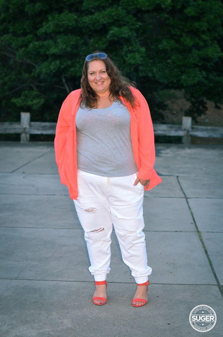 Plus Size Winter White Pants - White Pants 2016