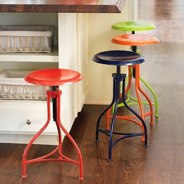 tabourets design industriel modles colors
