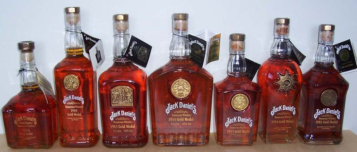 Jack Daniel's Gold Medal Collection