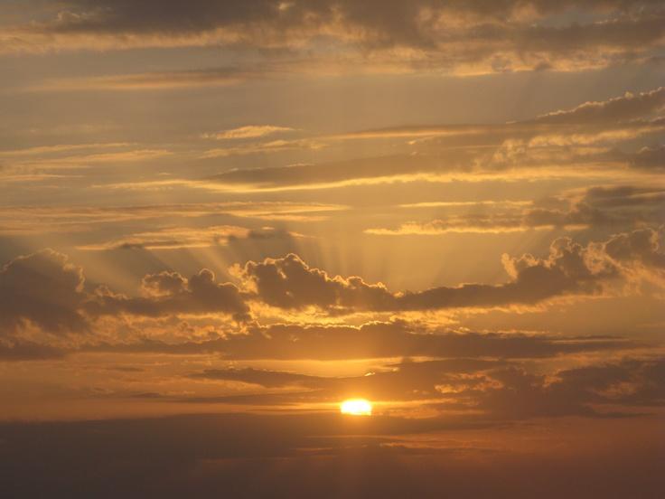 Sunrise in Sahara (Tunisia)