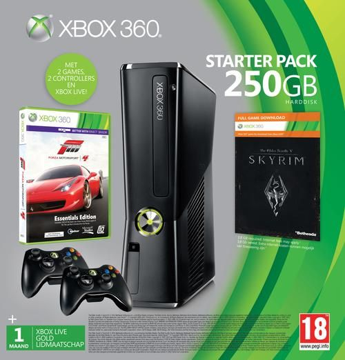 Xbox 360 250GB Spelcomputer St | Console | 0885370484809 | Cosmox.nl | Altijd alles gratis thuisbezorgd.