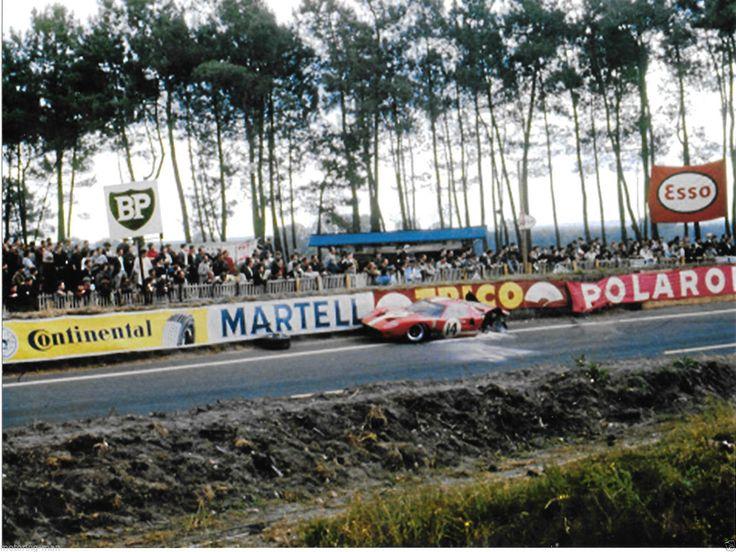 FORD GT40 MKII 1966 LE MANS PETER SUTCLIFFE DIETER SPOERRY SCUDERIA FILIPINETTI | eBay
