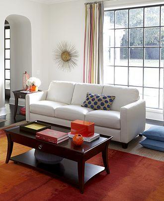 Emilia Leather Sofa Living Room Collection